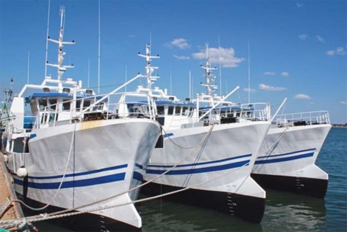 Mozambican fishing vessels, appearing in Africa PORTS & SHIPS maritime news
