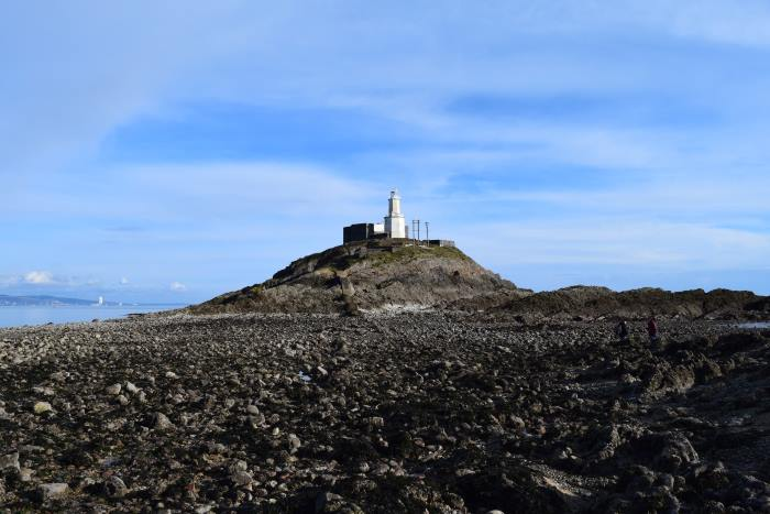 Mumbles Lighthouse, Wales. Featured in Africa PORTS & SHIPS maritime news