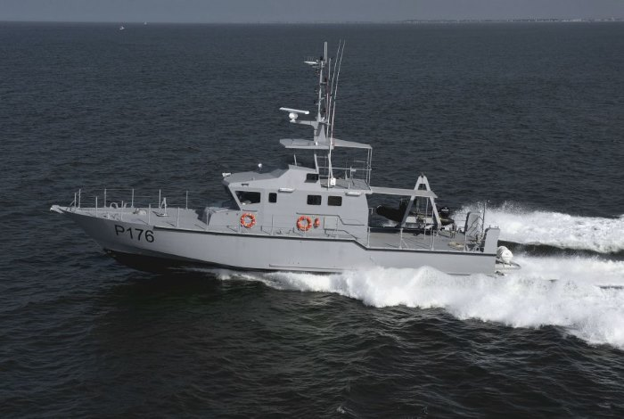 OCEA FPB 72 patrol boats, featured in Africa PORTS & SHIPS maritime news