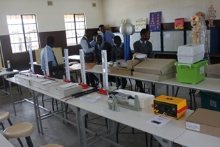 Euipment at Siphosethu Secondary School donated by Transnet National Ports Authority Port of Richards Bay featured in Africa PORTS & SHIPS maritime news