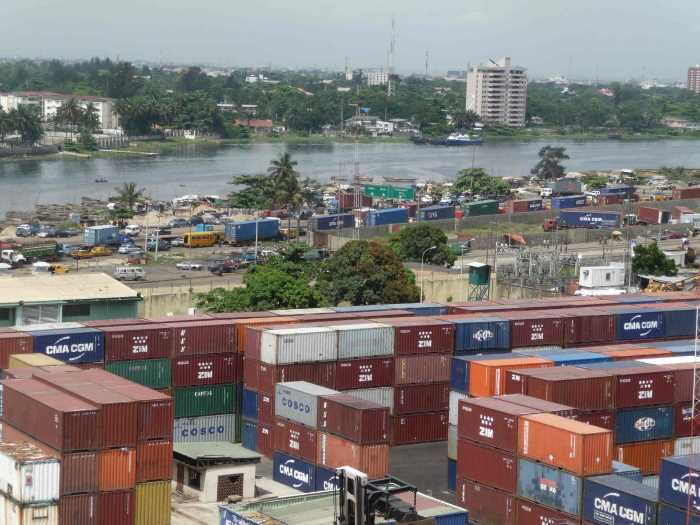 Apapa container terminal. Picture: OTAL, featuring in Africa PORTS & SHIPS maritime news