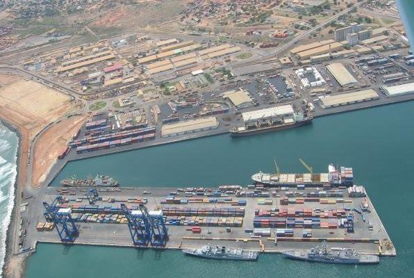 Port of Tema, Ghana, from a story in Africa PORTS & SHIPS maritime news