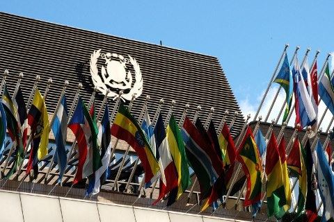 IMO flags, featuring in Africa PORTS & SHIPS maritime news
