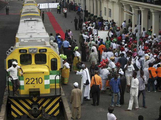 Nigerian train service on Cape gauge, from a report appearing in Africa PORTS & SHIPS maritime news