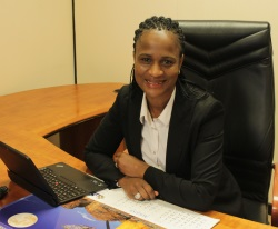 Phyllis Difeto, former TNPA COO, now GM Planning & Modelling, featured in Africa PORTS & SHIPS maritime news