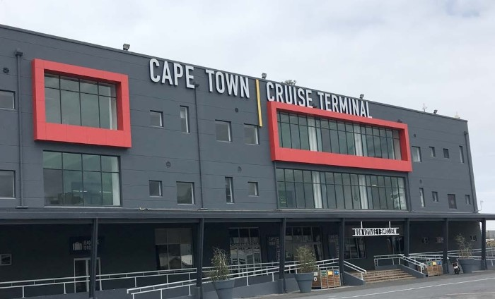 Cape Town Cruise Terminal, new home of Calico Jack's, appearing in Africa PORTS & SHIPS maritime news