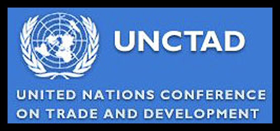 UNCTAD banner appearing with a story in Africa PORTS & SHIPS maritime news