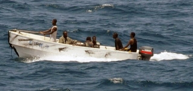 Somali pirates. Picture: US Navy Jason R Zalasky (public domain), featured in Africa PORTS & SHIPS maritime news