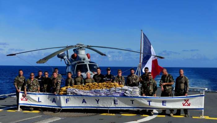 The French Navy frigate LA FAYETTE has made another successful stop and search of a dhow sailing near the Horn of Africa, from a news report appearing in Africa PORTS & SHIPS maritime news