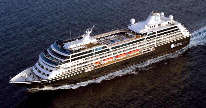 Azamara Quest, to visit South Africa, from a cruise reoprt appearing n AZfrica PORTS & SHIPS maritime news