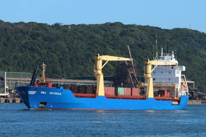 BBC Skysails, by Keith Betts, appearing in Africa PORTS & SHIPS maritime news