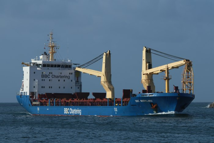 BBC Maryland by Keith Betts, appearing in Africa PORTS & SHIPS maritime news