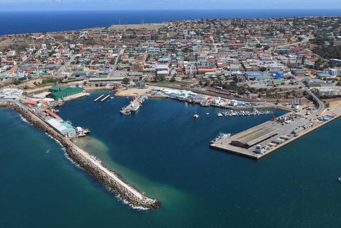 Port of Mossel Bay.   Picture:  TNPA, appearing with news report in Africa PORTS & SHIPS maritime news