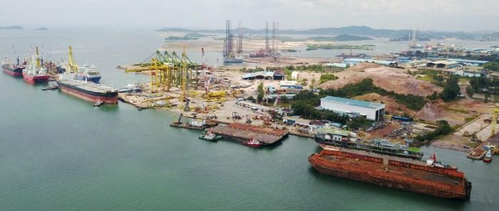 PaxOcean Pertama, Batam (Indonesia), appearing in Africa PORTS & SHIPS maritime news