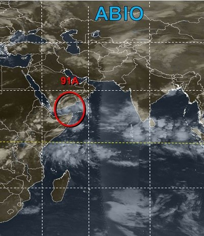 image courtesy Joint Typhoon Warning Center/NOAA, from a report appearing in Africa PORTS & SHIPS maritime news