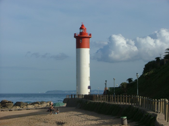Umhlanga Lighthouse, Durban. Picture: Terry Hutson, featured in article in Africa PORTS & SHIPS maritime news
