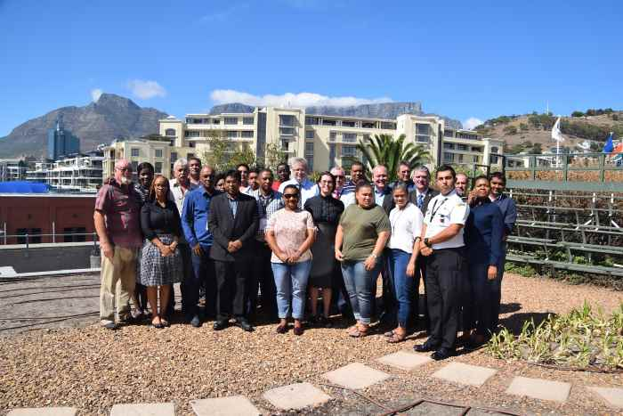The graduating class of the 2018 IALA Risk Management Seminar in South Africa, as appearing in Africa PORTS & SHIPS maritime news