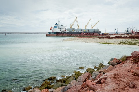 Saldanha Bay, featured in Africa PORTS & SHIPS maritime news