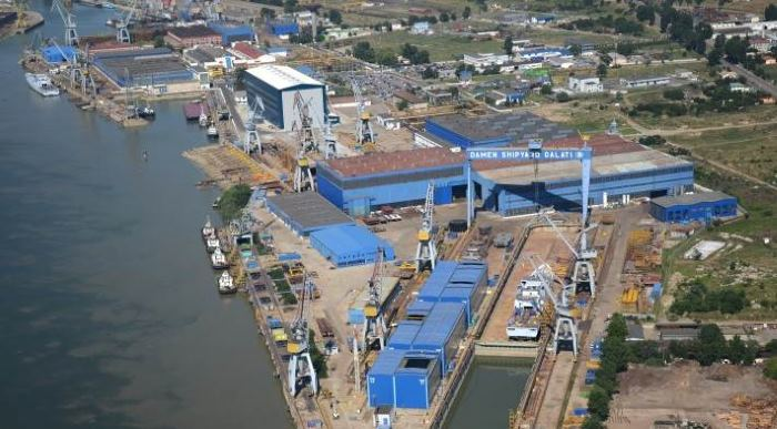 Damen Galati shipyard where the Nigerian floating dock was built, featured in article in Africa PORTS & SHIPS maritime news