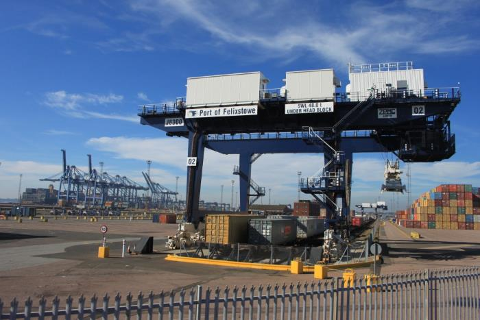 Port of Felixstowe. Picture: Wikipedia Commons, featured in Africa PORTS & SHIPS maritime news