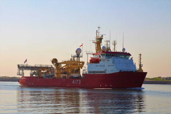 HMS Protector arriving in Durban June 2018, featured in Africa PORTS & SHIPS maritime news. Picture: Keith Betts