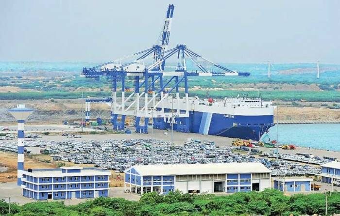 Port of Hambantota, Sri Lanka, now concessioned to China Merchants for 99 years, reported in Africa PORTS & SHIPS maritime news