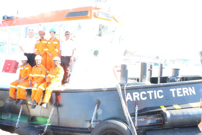 Port of Mossel Bay trainees appearing ina story in Africa PORTS & SHIPS maritime news