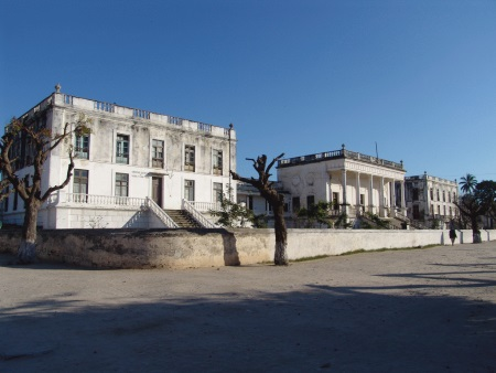 The former Portuguese Governor's Residence, now a museum, featured in Africa PORTS & SHIPS maritime news