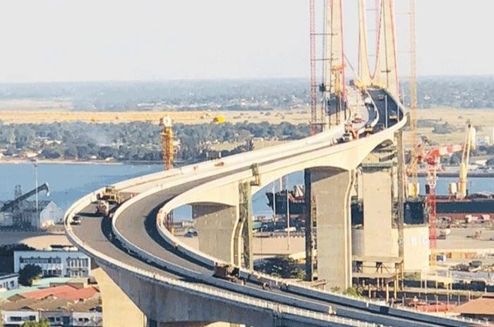 The new Caztembe Bridge at Maputo, as featured in Africa PORTS & SHIPS maritime news