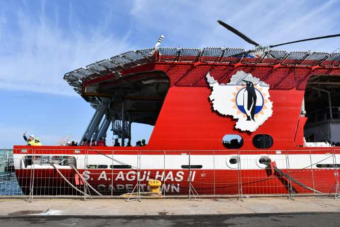 SA Agulhas, centre of attraction at this year's World Oceans Day held in Durban, appearing in Africa PORTS & SHIPS maritime news
