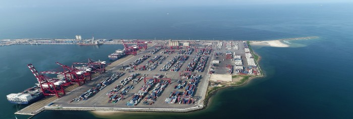 Congo Terminal. Picture: Bolloré, appearing in Africa PORTS & SHIPS maritime news