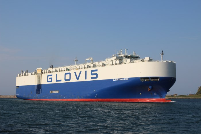 Glocvis Challenge by Keith Betts, featured in Africa Ports & Ships maritime news