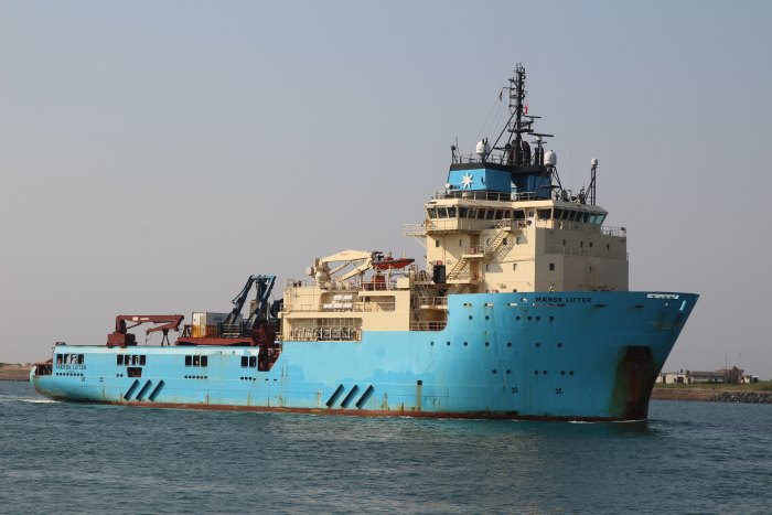 Maersk Lifter arriving in Durban, picture by Keith Betts, appearing in Africa PORTS & SHIPS maritime news