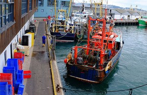Brixham trawlers. www.gov.uk/government/news/minister ©, appearing in Africa PORTS & SHIPS maritime news