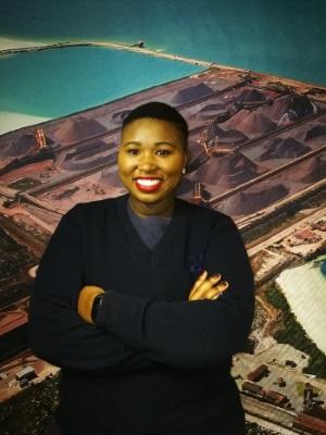 Nomvana Marwanqana of TP, Port of Saldanha, featured in Africa PORTS & SHIPS maritime news