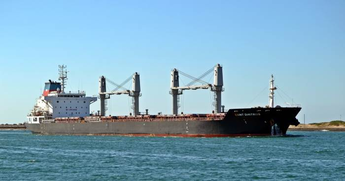 Saint Dimitrios at Durban. Picture: Ken Malcolm, featured in Africa PORTS & SHIPS maritime news