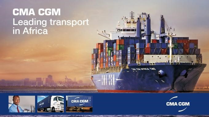 CMA CGM, leading line in Africa, featured in Africa PORTS & SHIPS maritime news