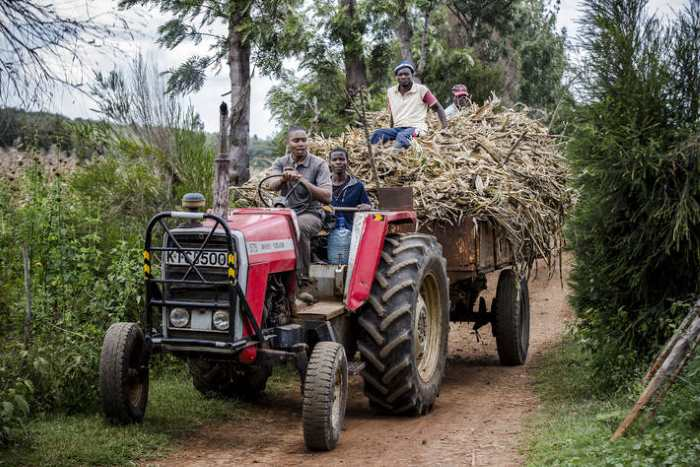 Farmers in Kenya. Picture: ©FAO/Luis Tato, appearingin Africa PORTS & SHIPS maritime news