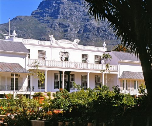 Tuynhuys, the Cape Town offices of the Presidency of the Republic of South Africa. Picture: Wikipedia, featured in Africa PORTS & SHIPS maritime news