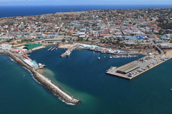 Mossel Bay and port. Appearing in Africa PORTS & SHIPS maritime news. Picture: TNPA