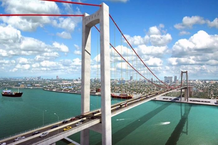 The Maputo-Catembe Bridge as it will look when opened in October, featured in Africa PORTS & SHIPS maritime news