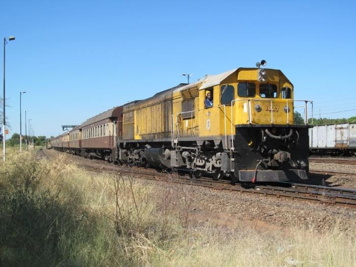 NRZ train as featured in Africa PORTS & SHIPS maritime news