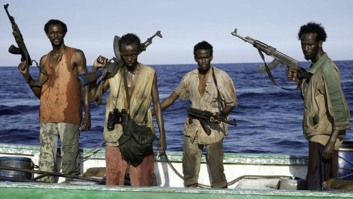 Nigerian pirates, featured in a report in Africa PORTS & SHIPS maritime news