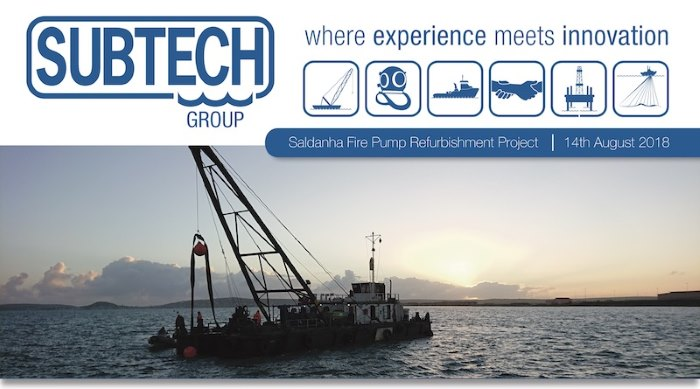 Subtech project at Saldanha, appearing in Africa PORTS & SHIPS maritime news