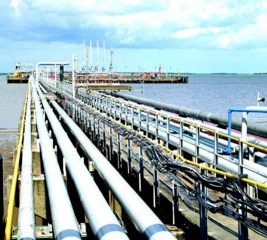 Nigerian oil jetty appearing in Africa PORTS & SHIPS maritime news