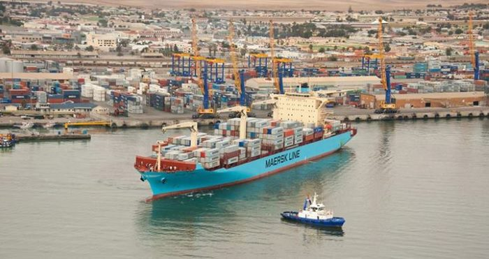 Port of Walvis Bay, featured in Africa PORTS & SHIPS maritime news