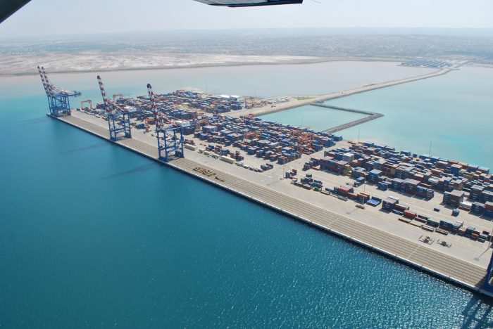 Doraleh Container Terminal at Djibouti, featured in Africa PORTS & SHIPS maritime news