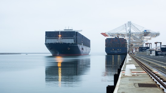 CMA CGM Antoine de Saint Exupéry arriving at Le Havre, featured in Africa PORTS & SHIPS maritime news