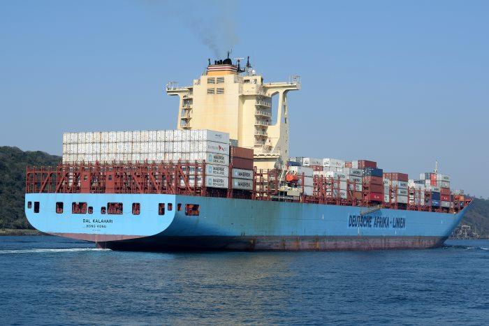 DAL Kalahari in Durban harbour. Picture: Trevor Jones, appearing in Africa PORTS & SHIPS maritime news