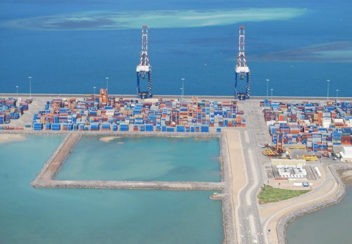 Doraleh Container terminal and port at Djibouti, appearing in Africa PORTS & SHIPS maritime news